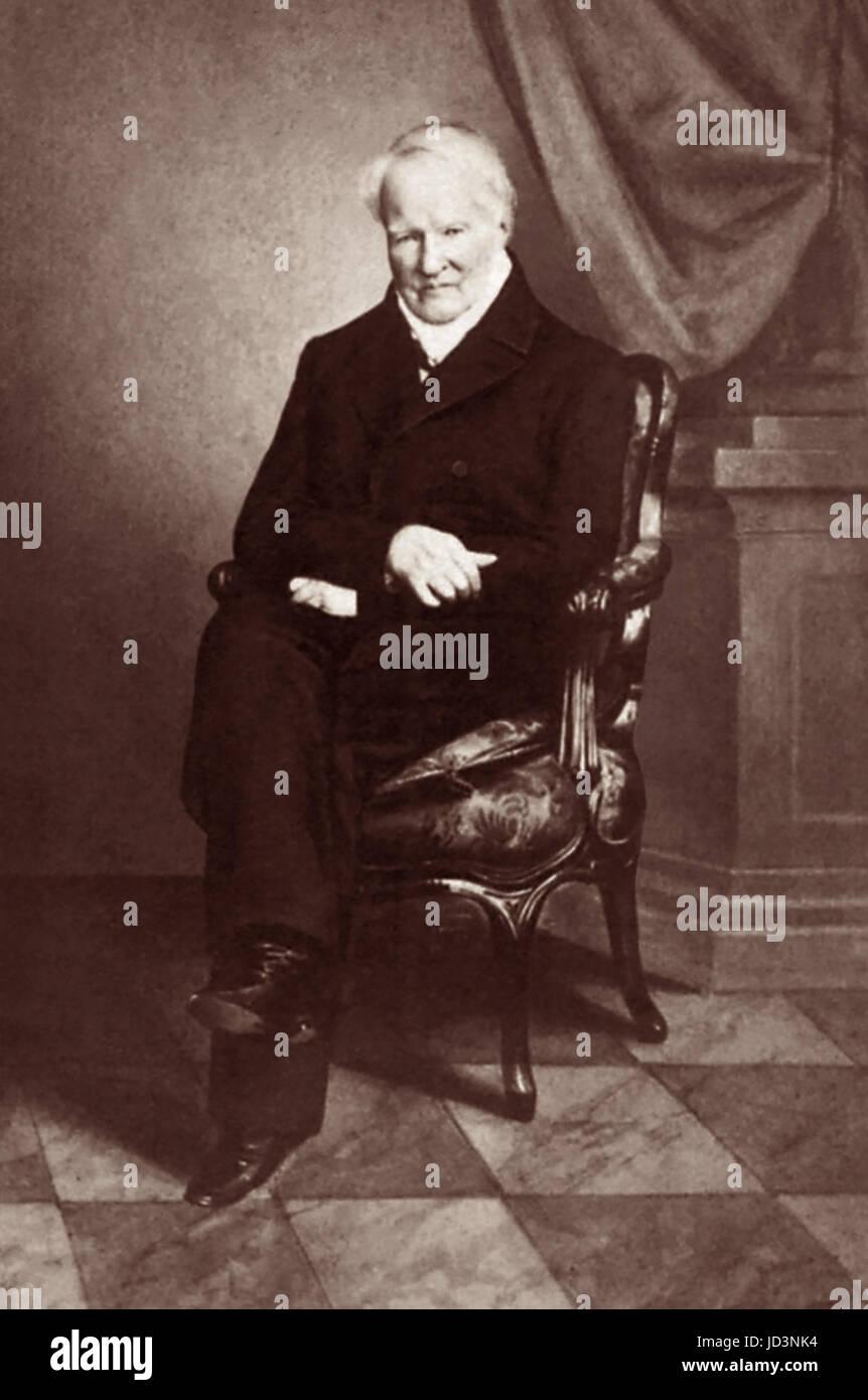 Alexander von Humboldt (1769 ? 1859), einflussreicher deutscher Naturforscher und Entdecker, war einen bedeutenden Stockbild