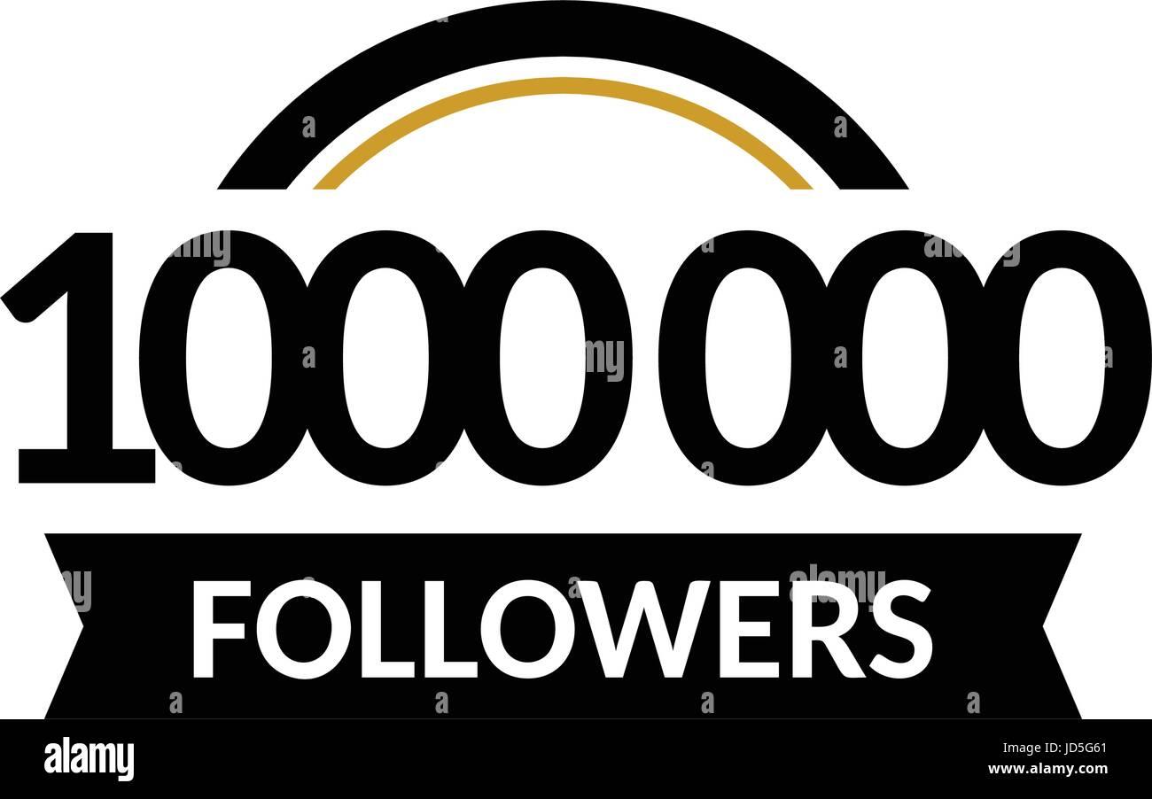 One Million Followers Stockfotos & One Million Followers Bilder - Alamy
