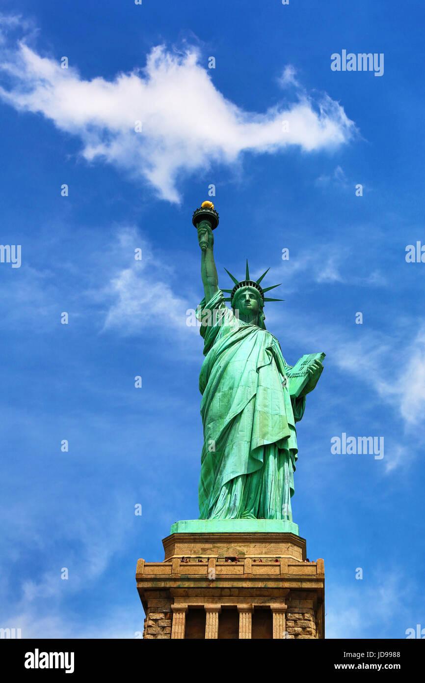 Die Statue of Liberty, New York City, New York, USA Stockbild