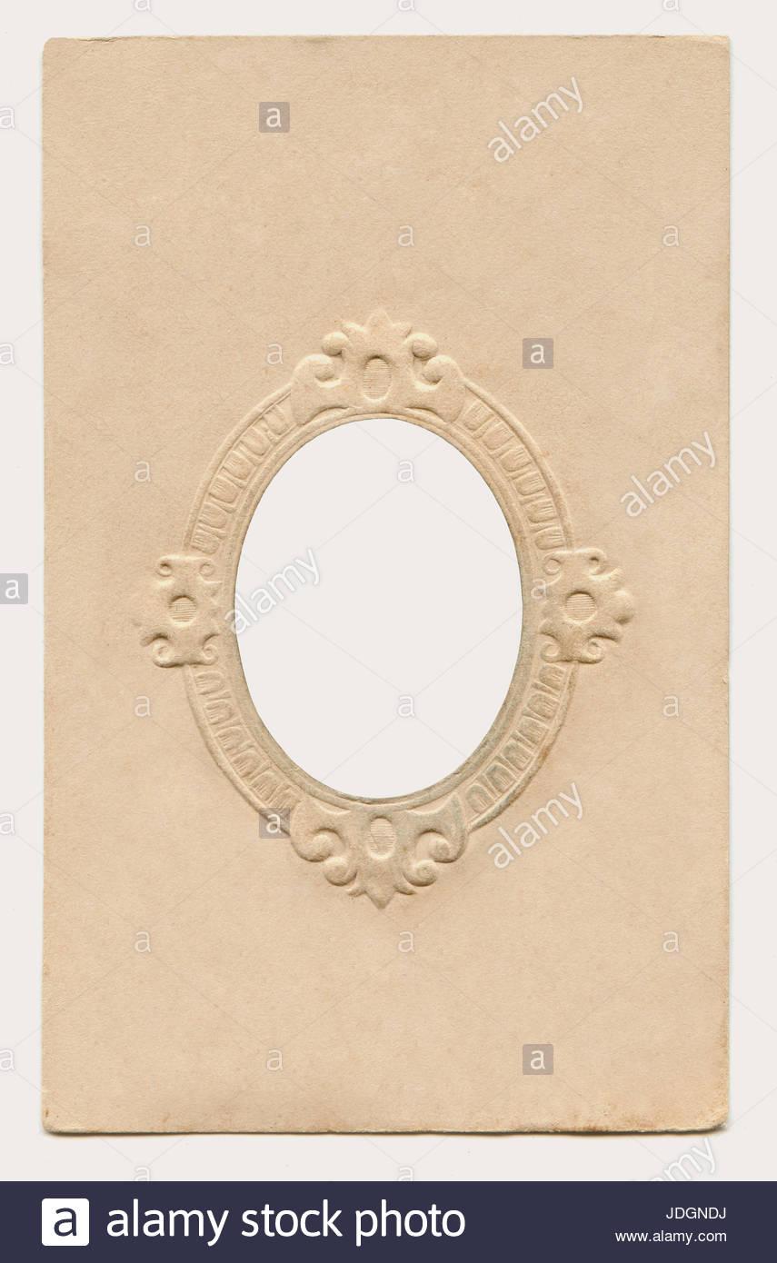 Antike Karton Bilderrahmen Stockfoto, Bild: 146041550 - Alamy