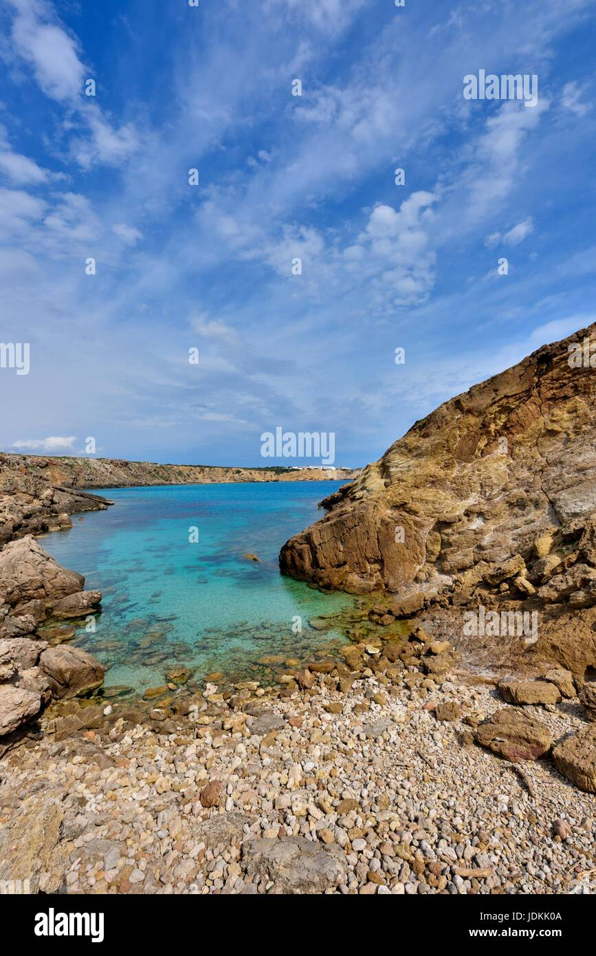 Menorca Spanien Stockbild