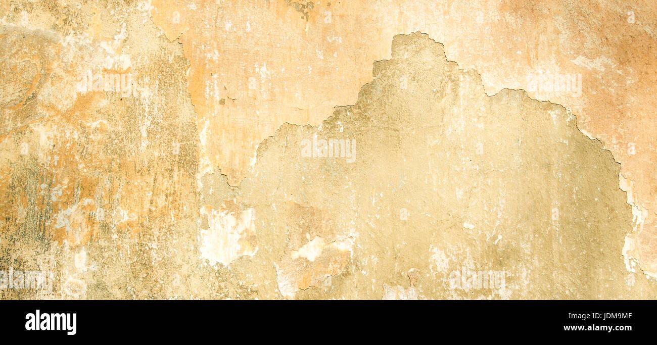 Alte Vintage Grunge Putz Beige gestrichenen Wand Textur Hintergrund ...