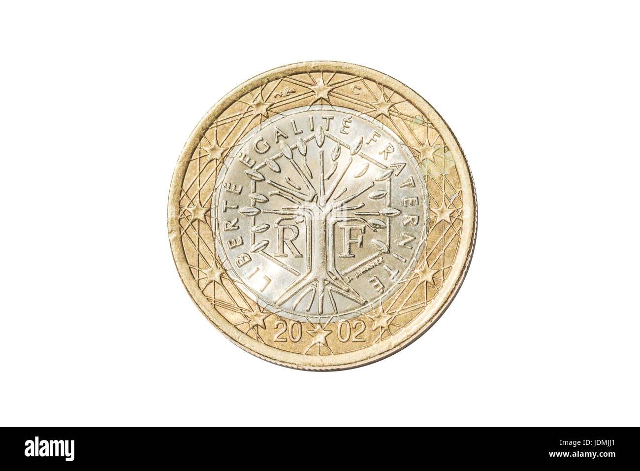 Frankreich Ein Euro Münze Stockfoto Bild 146127129 Alamy