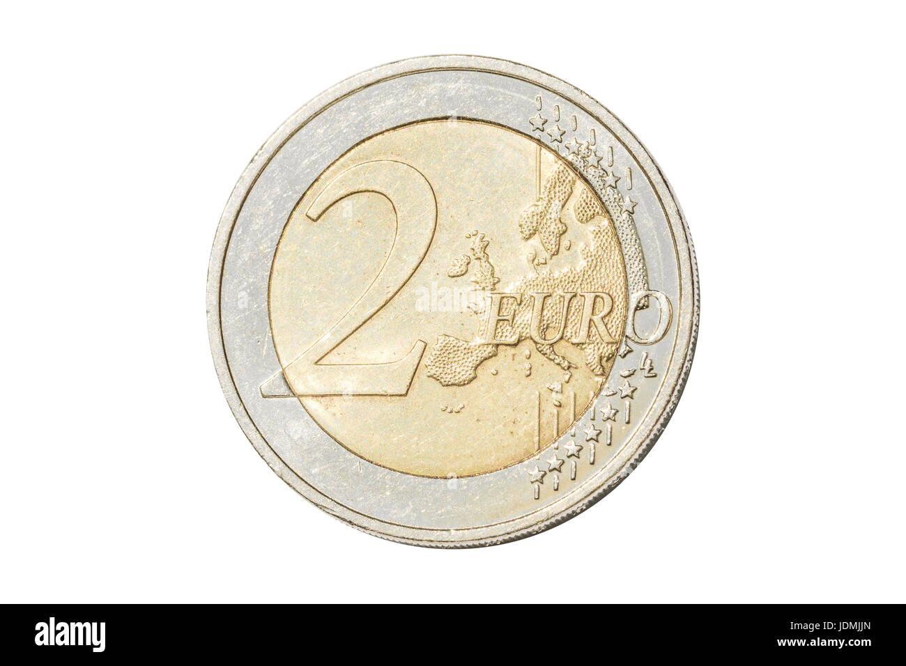 Zwei Euro Münze Stockfotos Zwei Euro Münze Bilder Seite 2 Alamy