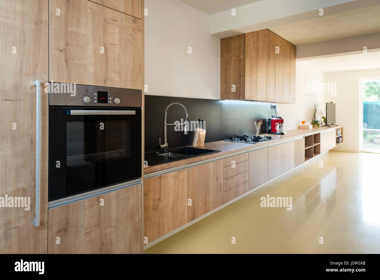 Malerisch Moderne Inneneinrichtung Galerie Von - Küche Verbunden Mit Wohnzimmer