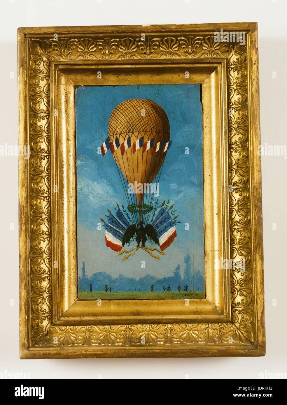 Krönung Ballon - Paris 2. Dezember 1804 (25 Frimaire Jahr XIII nach ...
