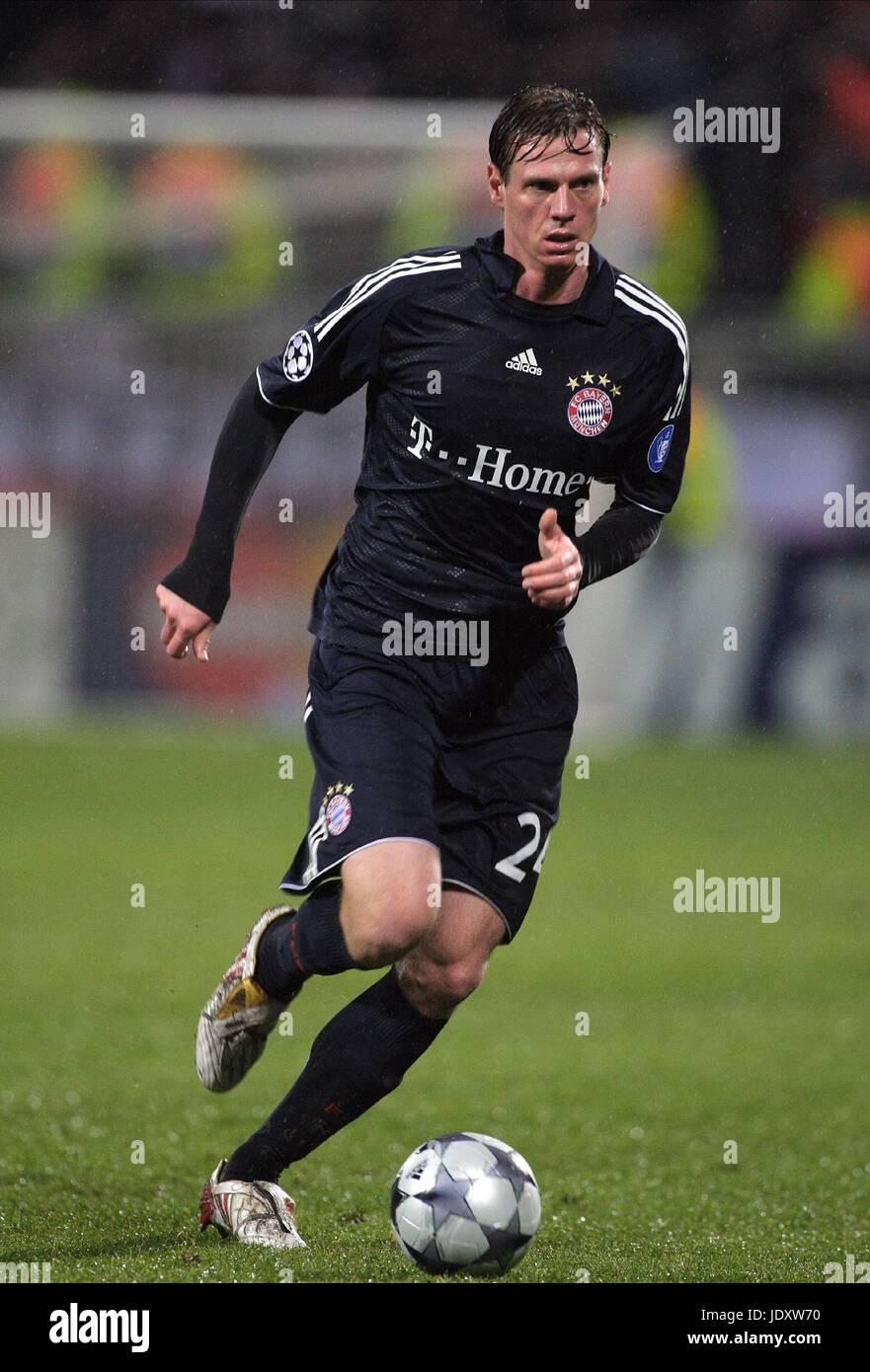 Tim Borowski Fc Bayern München Stade De Gerland Lyon