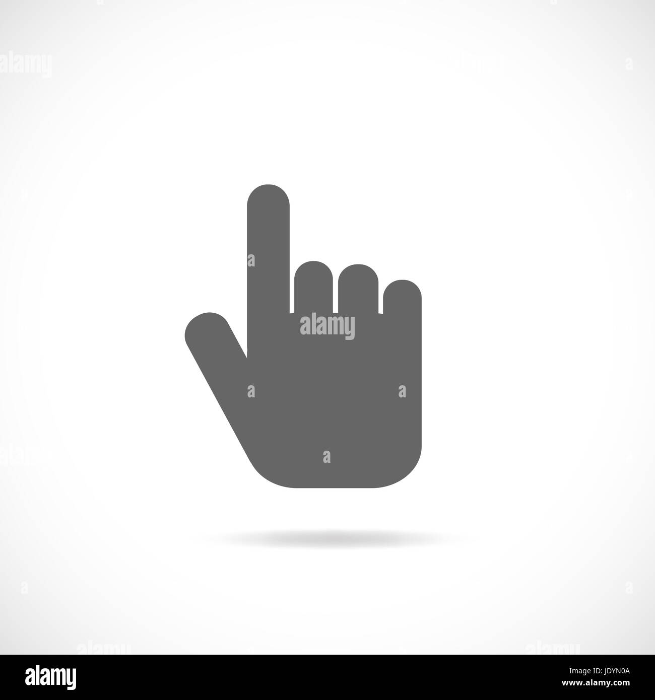 Pointing Hand Vector Stockfotos & Pointing Hand Vector Bilder - Alamy