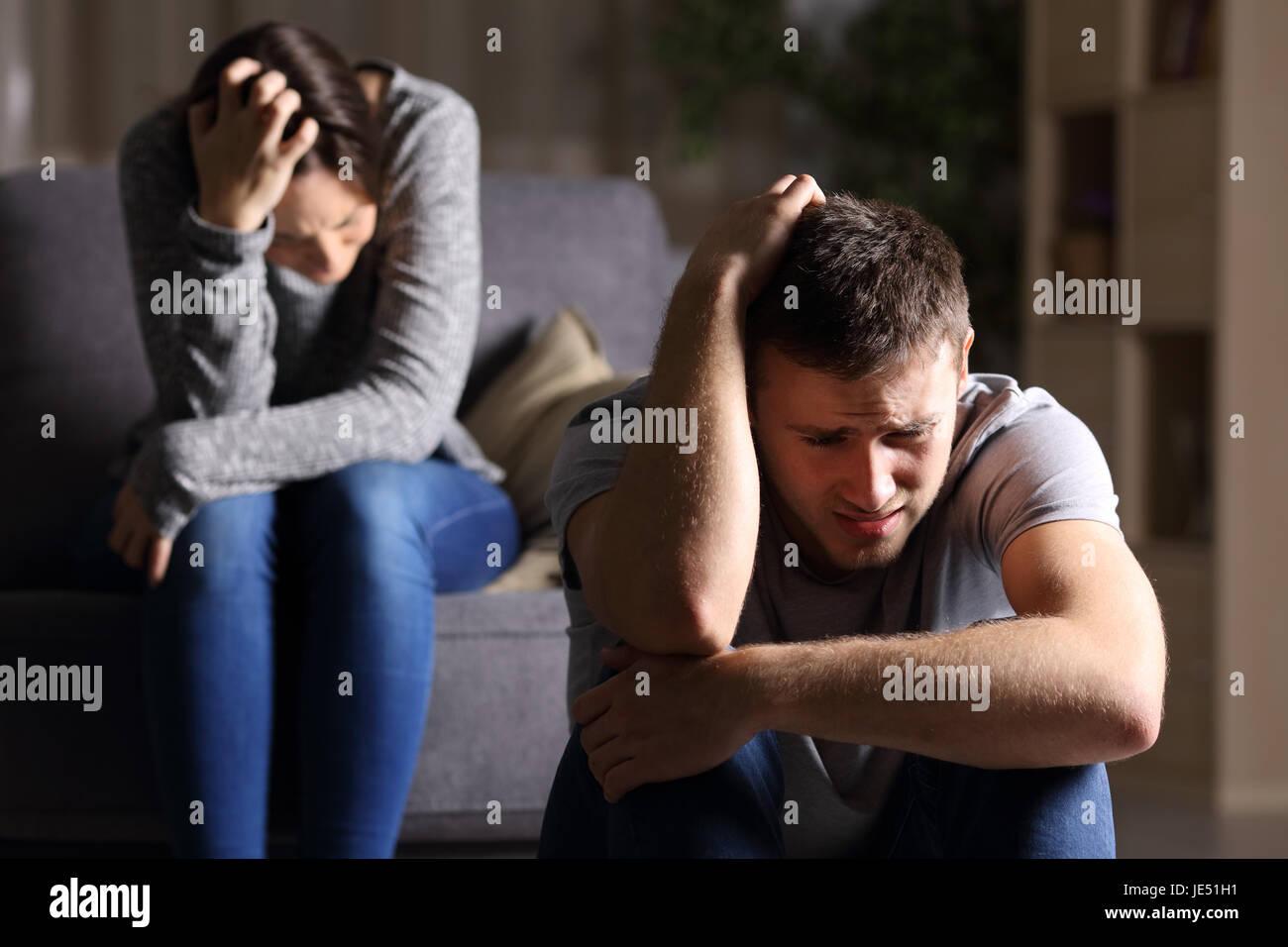 Traurige trennungs bilder