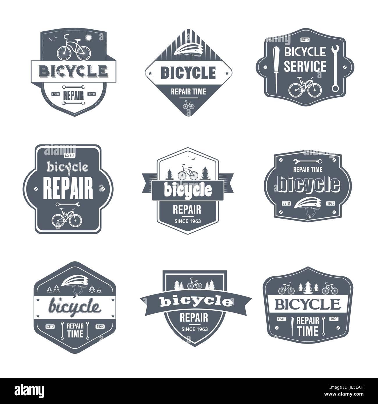 Bike Vector Logo Design Template Stockfotos & Bike Vector Logo ...