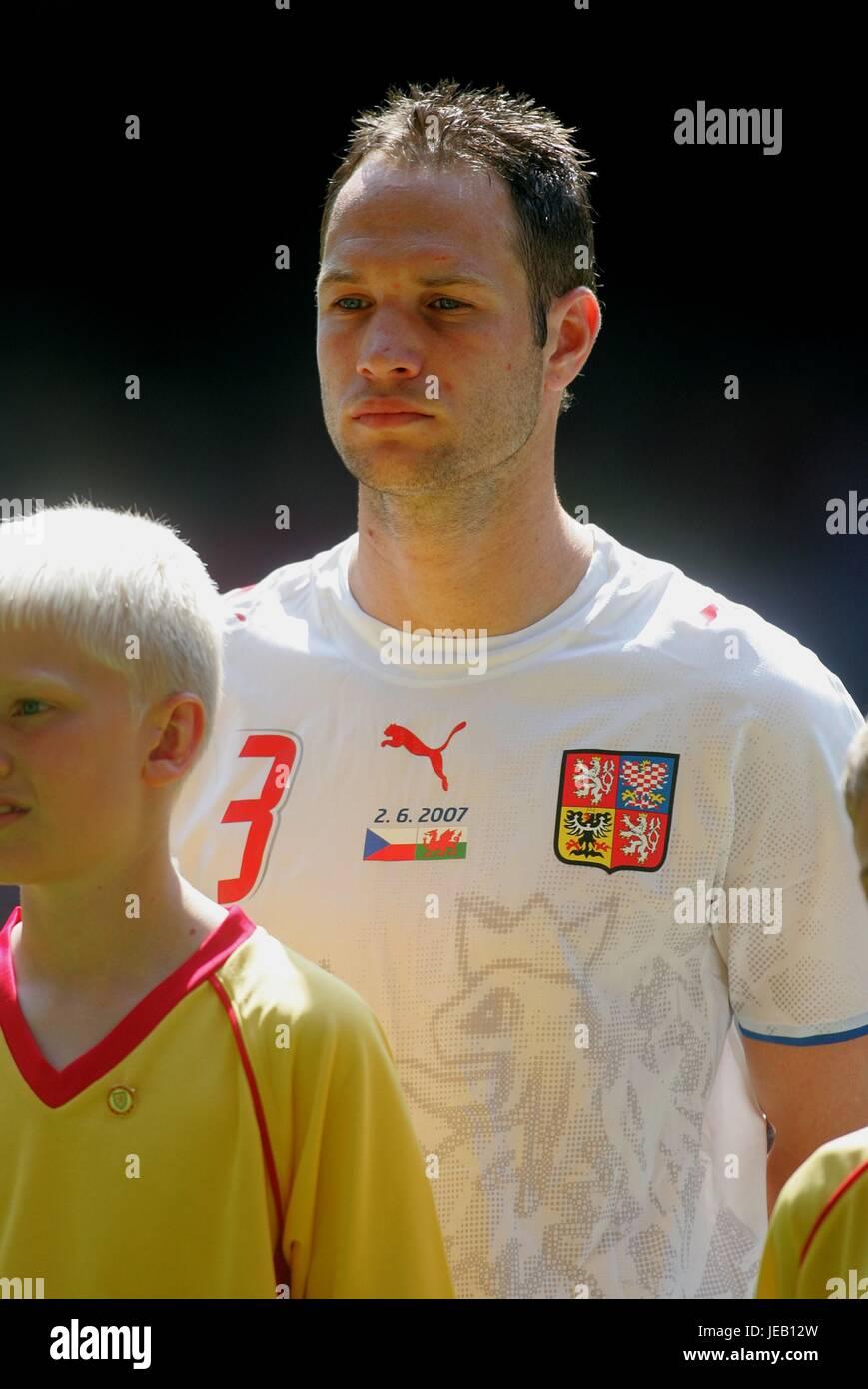 JAN POLAK Tschechien & FC Nürnberg das MILLENNIUM Stadion CARDIFF WALES 2. Juni 2007 Stockbild