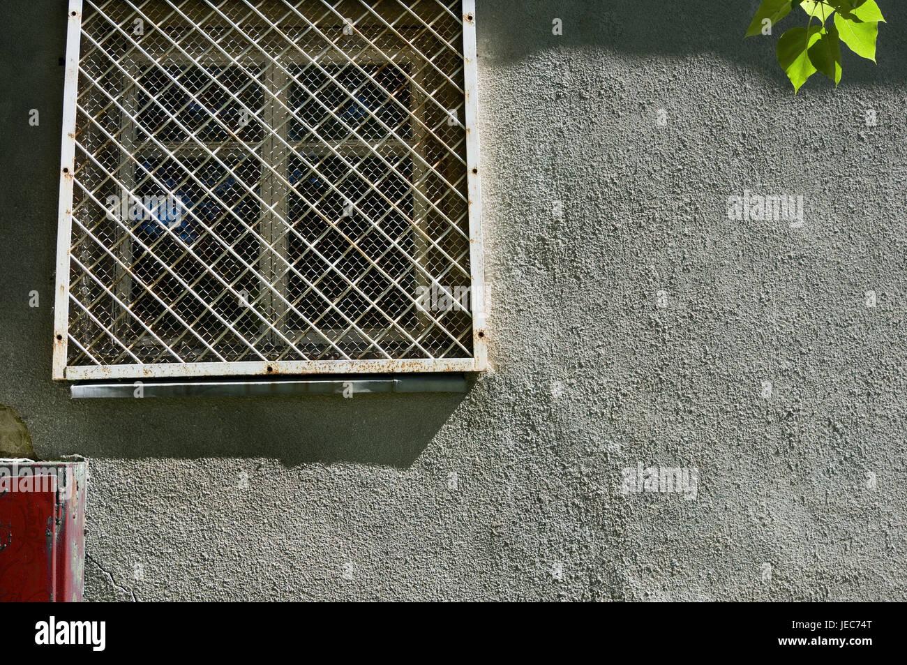 Favorit Wand des Hauses, Fenster Gitter, Fenster, Gitter, Wand GI12