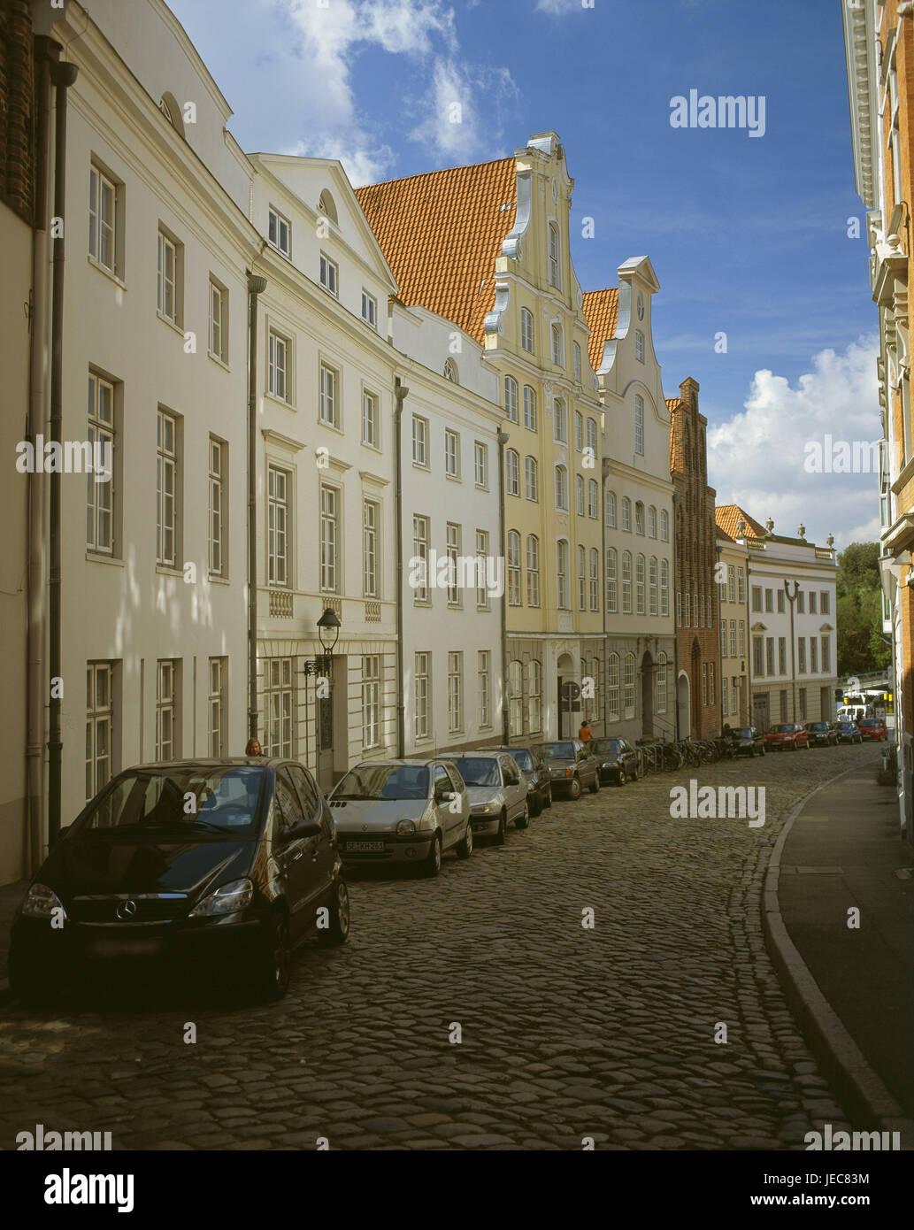 deutschland schleswig holstein l beck altstadt gro e peter ist meins stra e h user. Black Bedroom Furniture Sets. Home Design Ideas