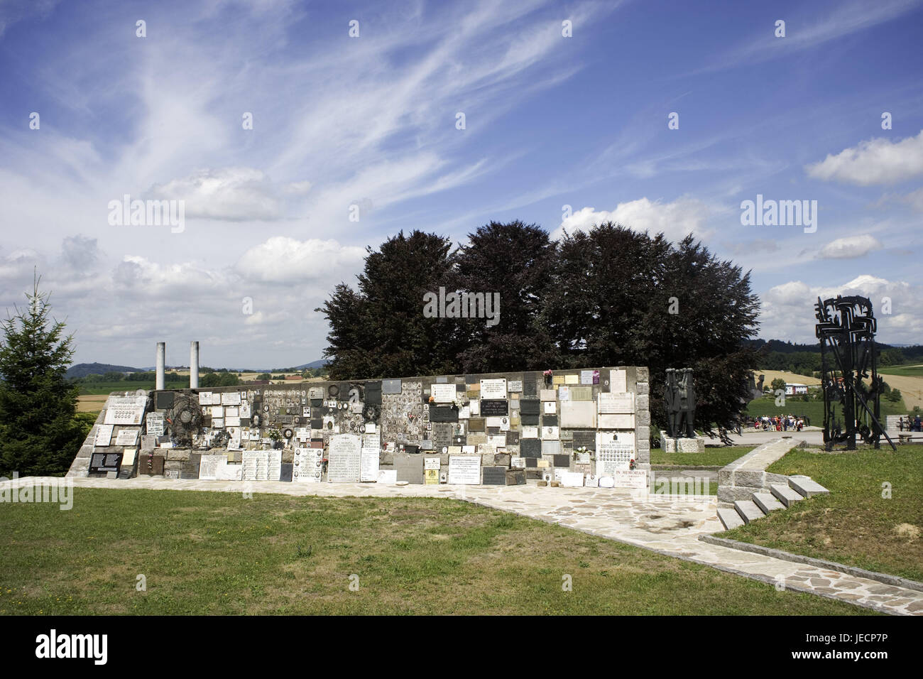 Italian Concentration Camp Stockfotos Italian Concentration Camp