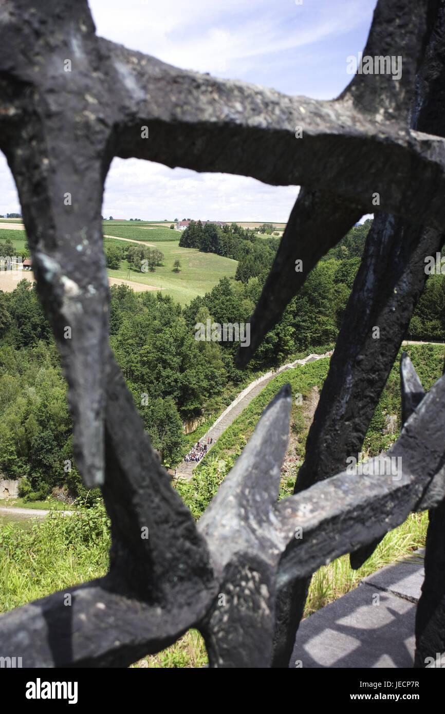 österreich Mauthausen Kz Gedenkstätte Skulptur Ddr Denkmal