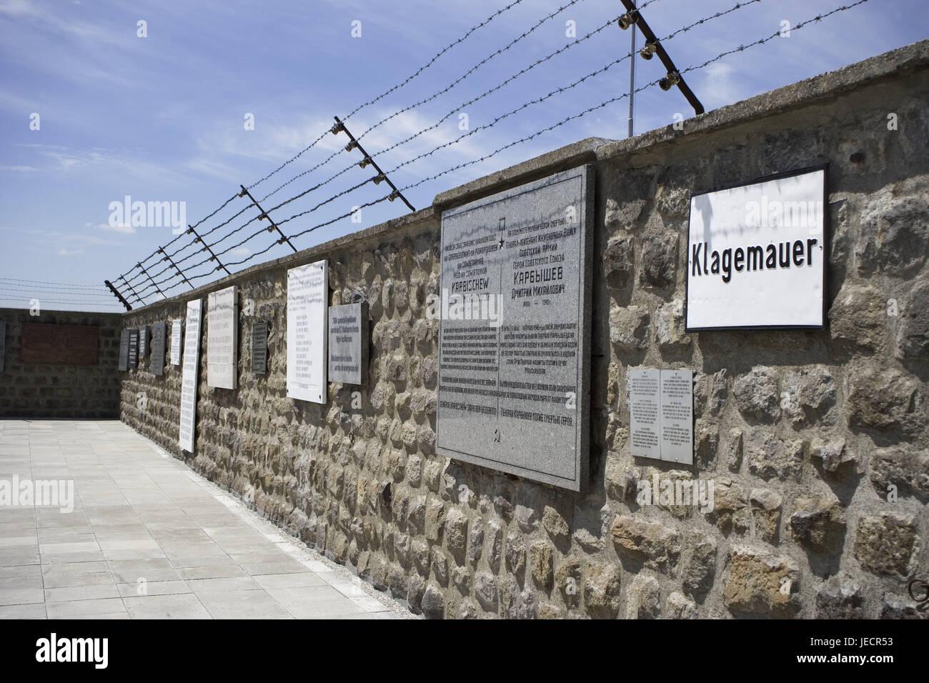 österreich Mauthausen Kz Gedenkstätte Gericht Einkreisung