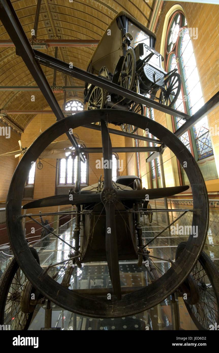 Frankreich, Paris, der Kirche Saint-Martin-des-Champs, Musée des Arts et Berufe, Proben nicht zum Verkauf, Stockbild