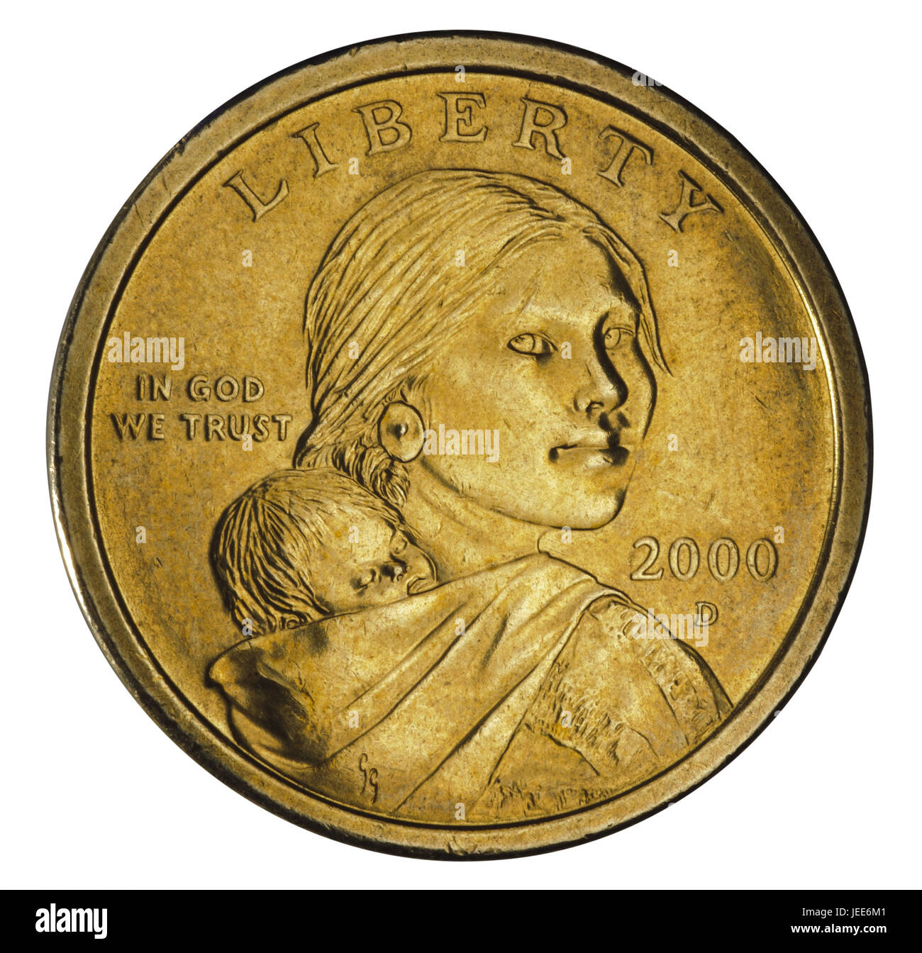 Der Us Dollar 1 Dollar Münze Stockfoto Bild 146600721 Alamy