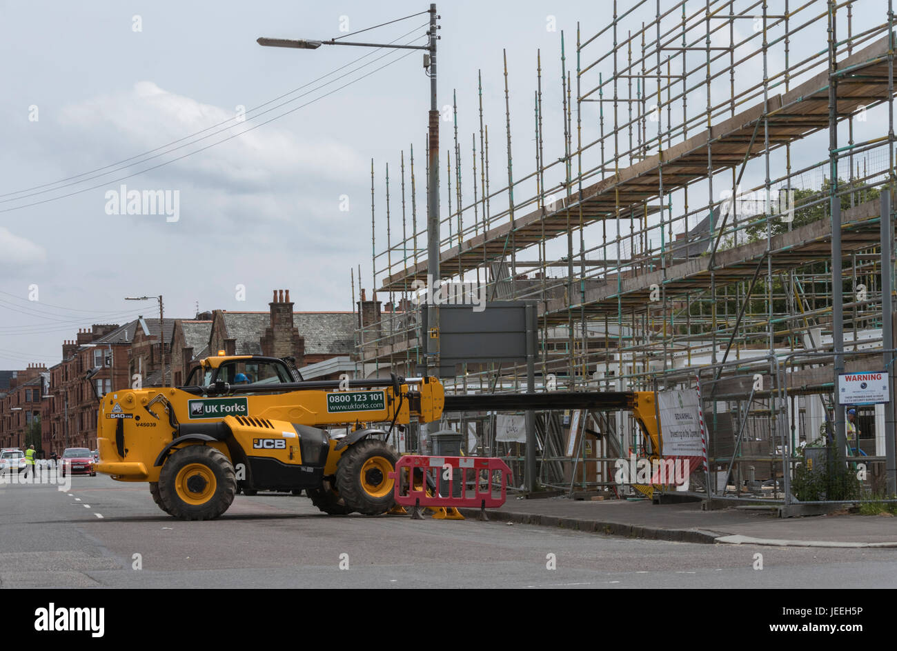 Telescopic Lift Stockfotos & Telescopic Lift Bilder - Alamy