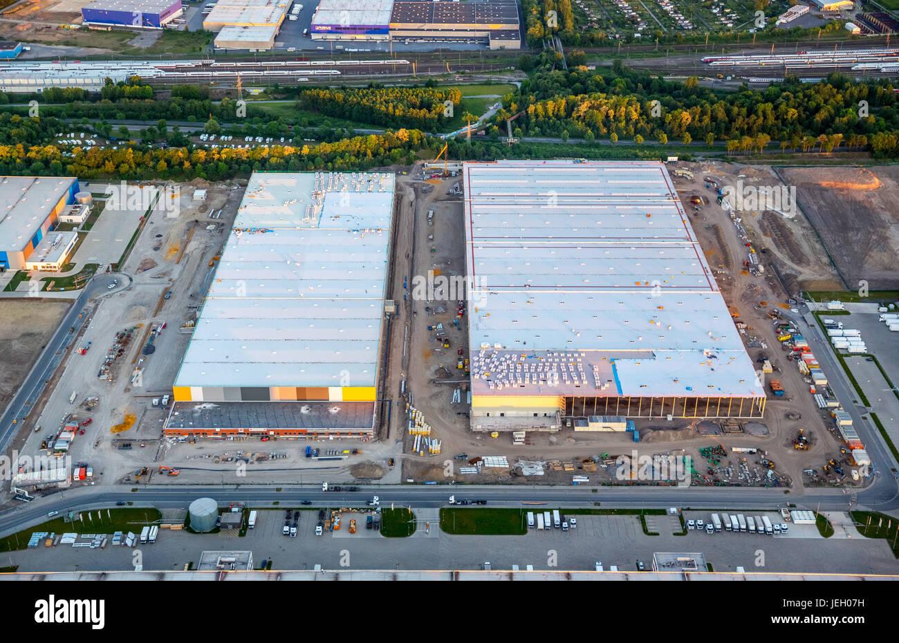 Amazon Logistics Center Dortmund Stockfotos Amazon