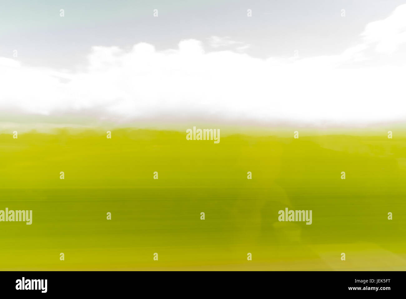 Abstrakt: fliegende Landschaft Stockbild