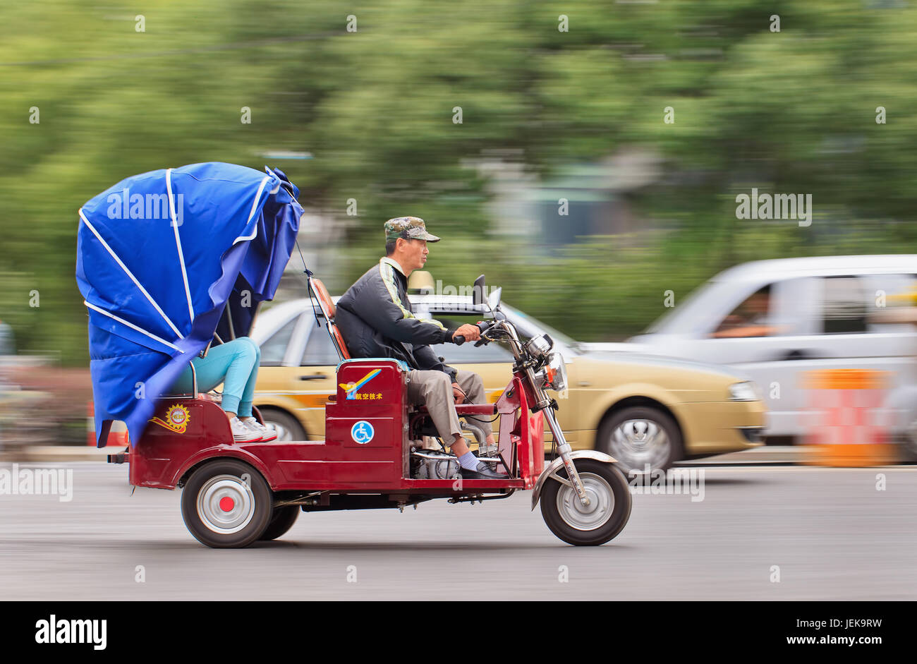 motor bike trike stockfotos motor bike trike bilder seite 2 alamy. Black Bedroom Furniture Sets. Home Design Ideas