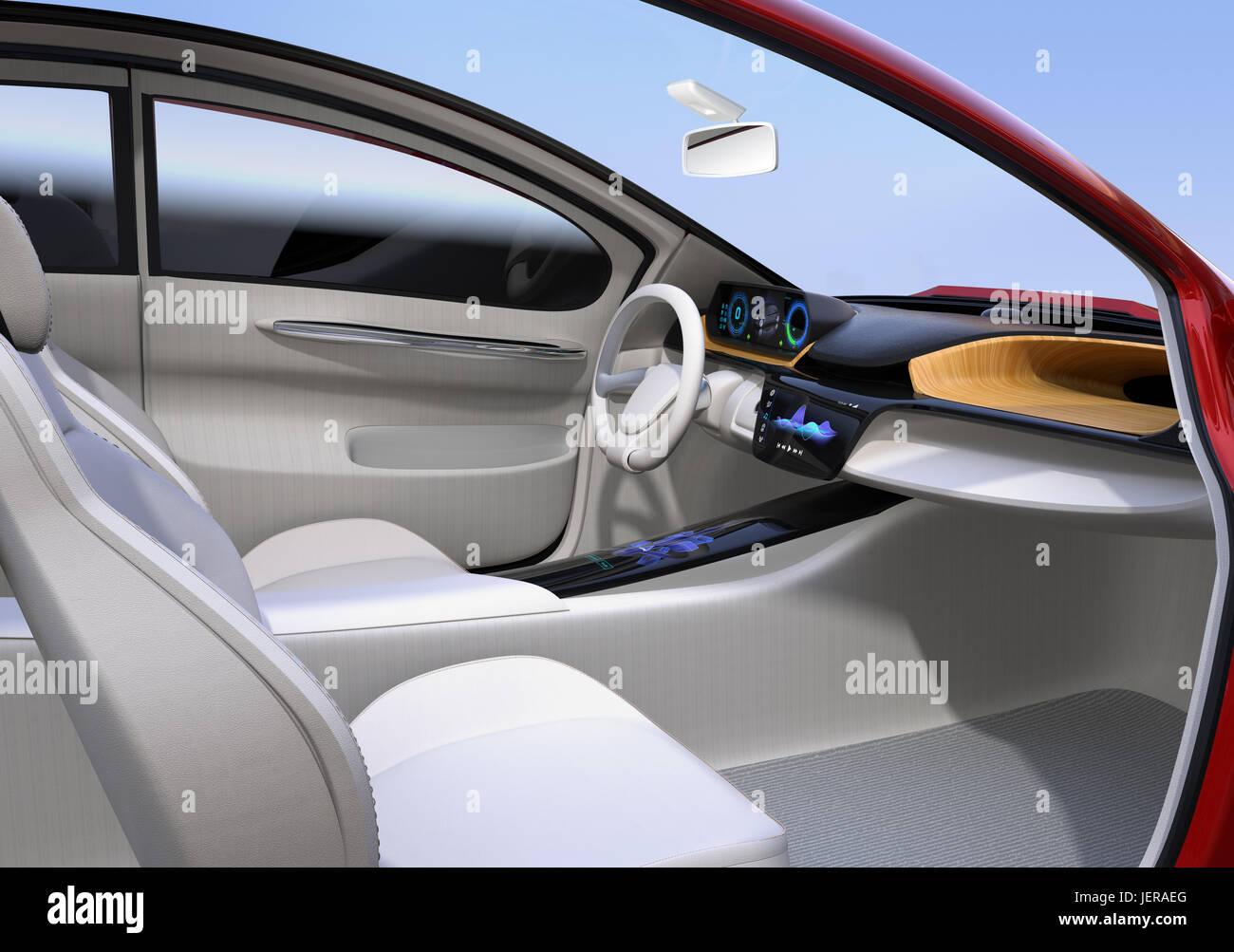 3d Car Interior Stockfotos & 3d Car Interior Bilder - Seite 2 - Alamy