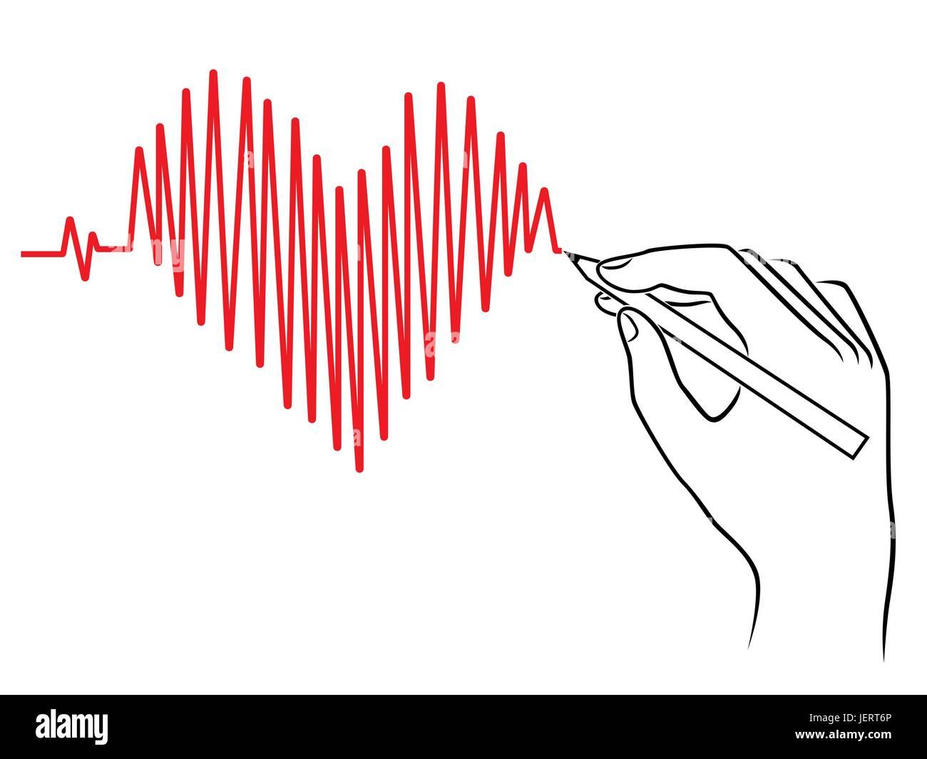 Herz Und Kunstwerk Medizin Stockfotos Herz Und Kunstwerk Medizin