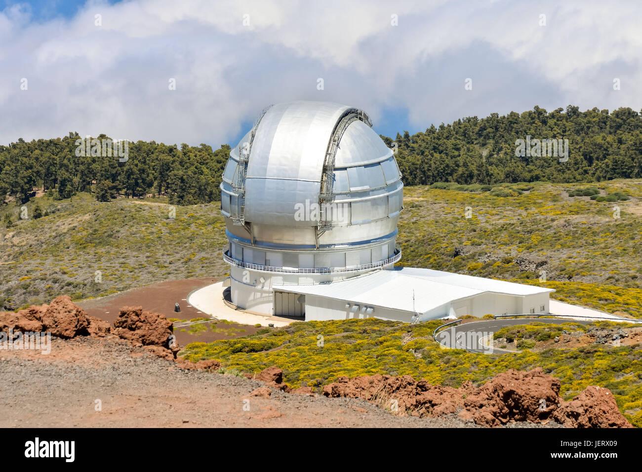 Astronomisches observatorium teleskop stockfoto bild