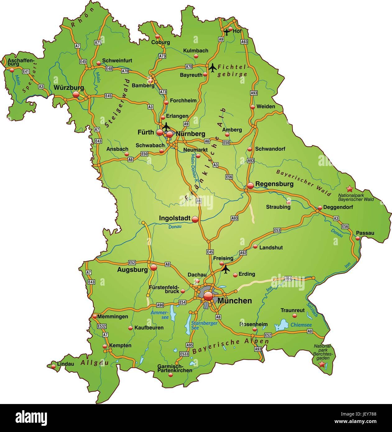 A3 Verkehr Bayern