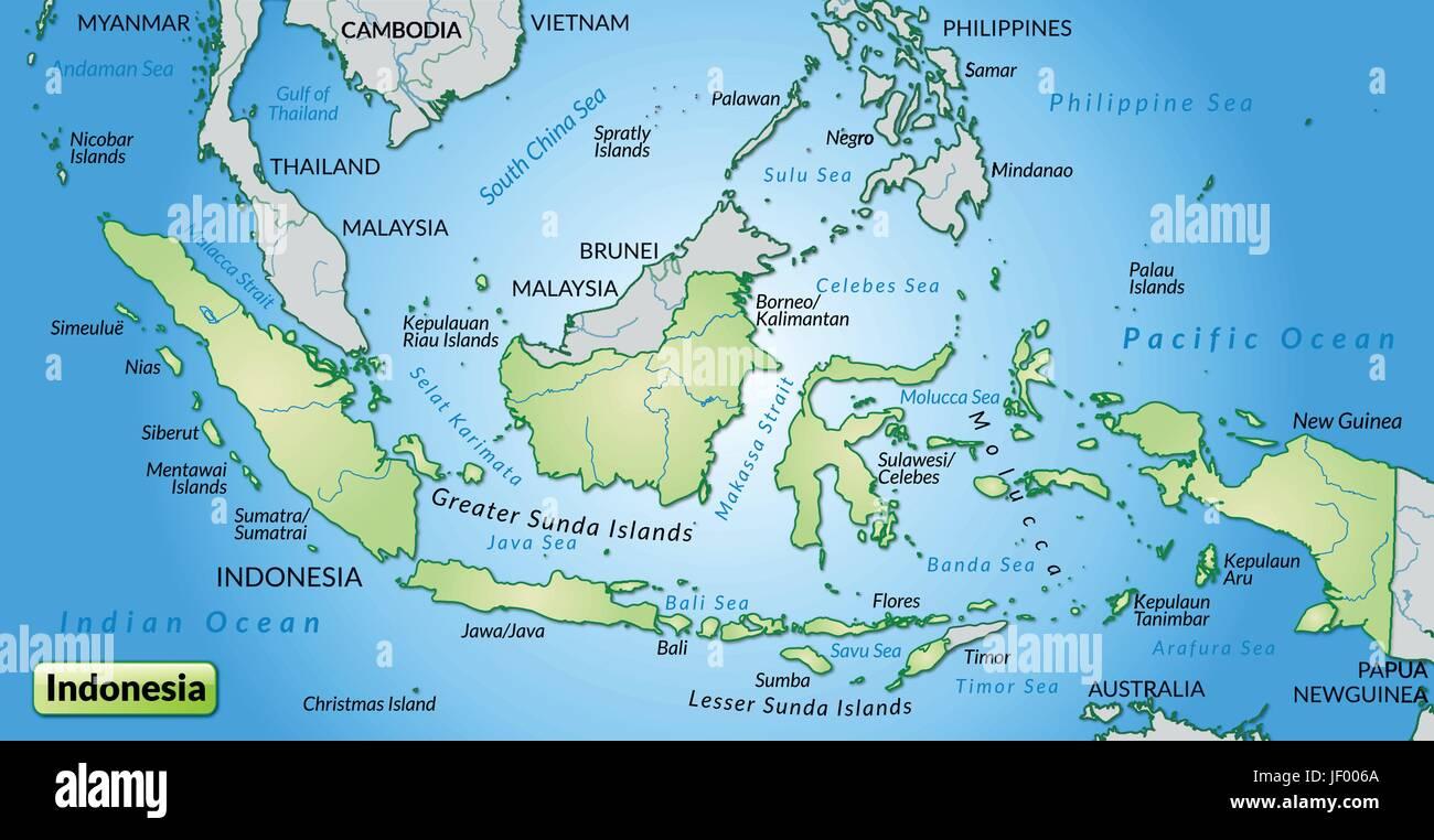 Landkarte Bali Indonesien Top Sehenswurdigkeiten