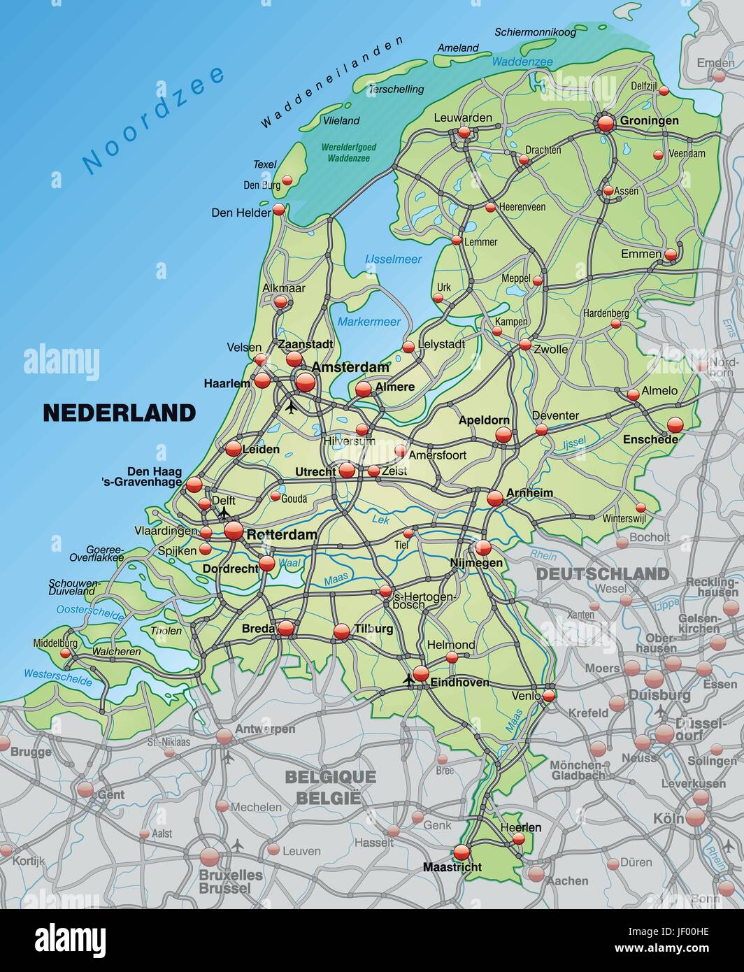 Holland Grenze Nrw