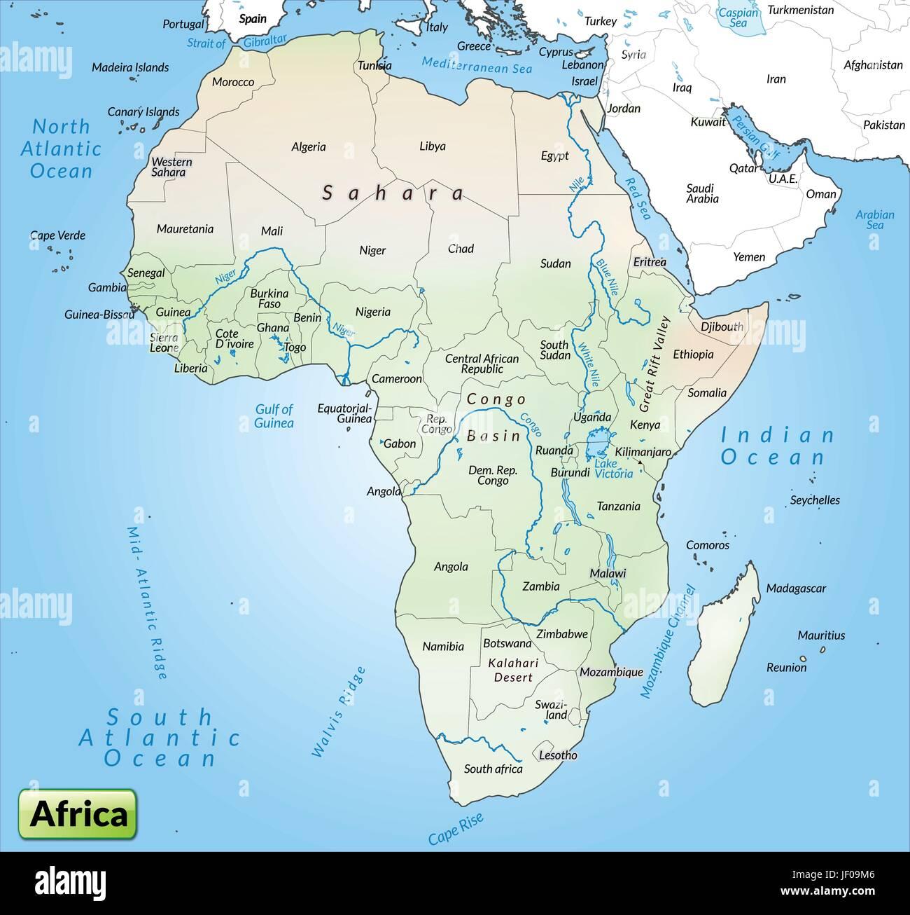 Karte Afrika.Karte Atlas Karte Der Welt Karte Afrika Grenze Karte Synopse