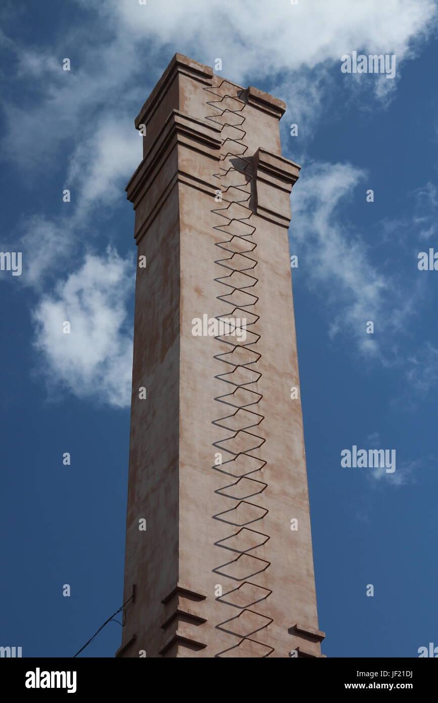 Vertikale Schornstein Stockbild