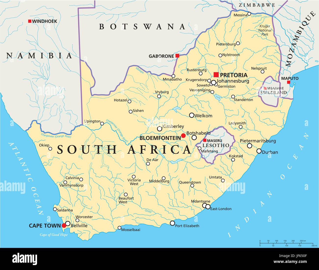 Cape Of Good Hope Map Stockfotos & Cape Of Good Hope Map ...