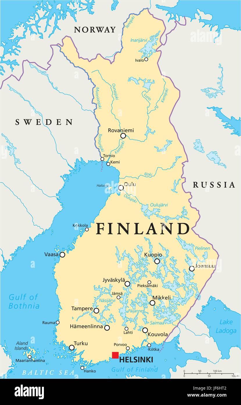 Skandinavien Finnland Helsinki Karte Atlas Karte Der Welt