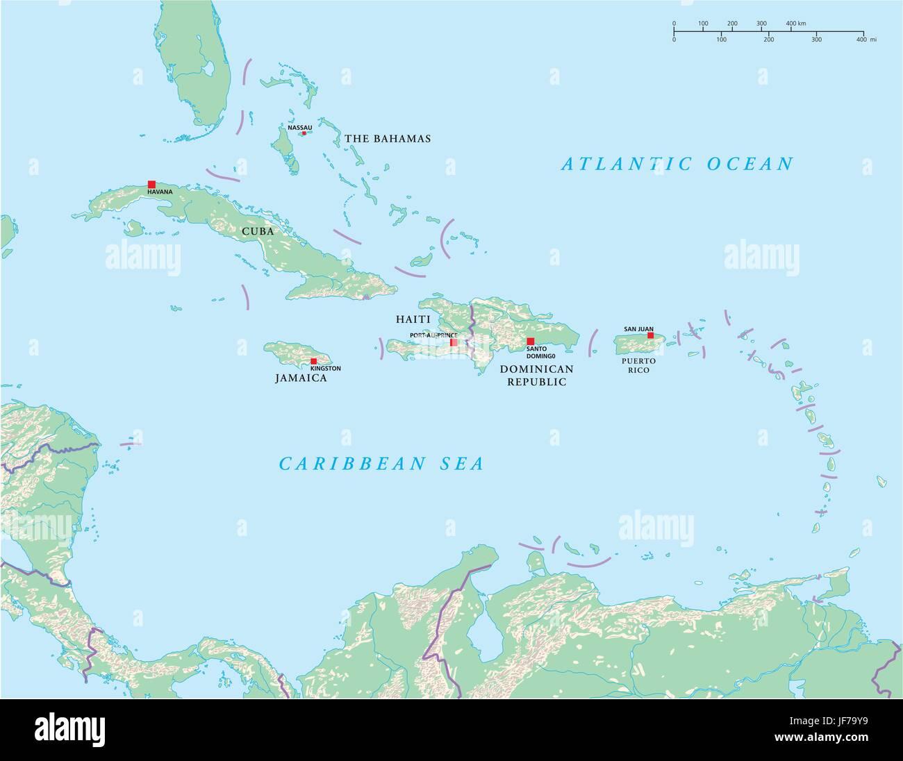 Martinique Map Stockfotos Martinique Map Bilder Seite 2 Alamy