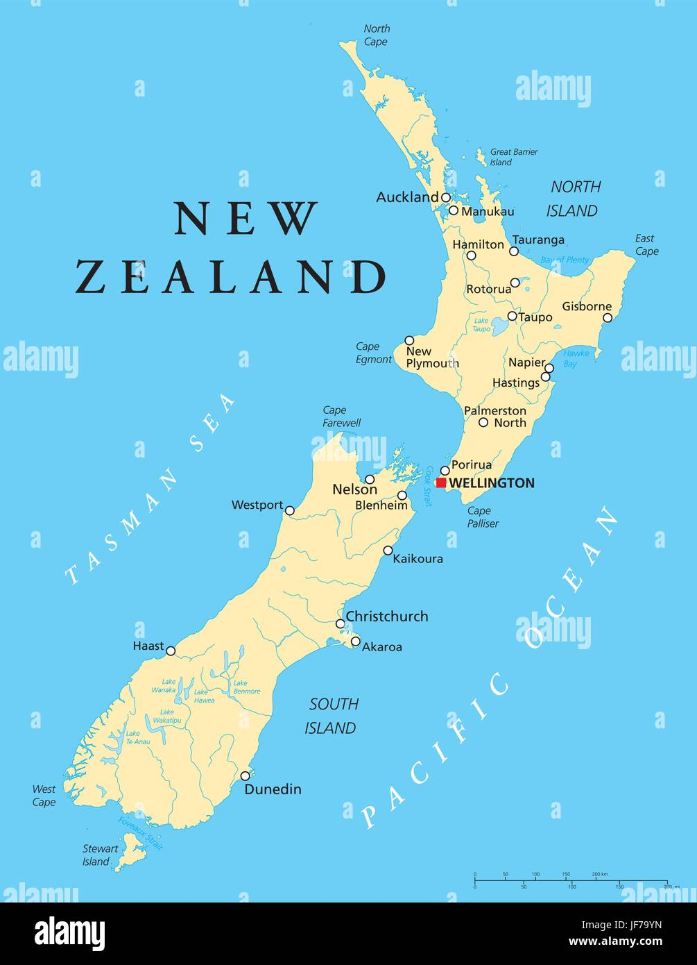 Karte Neuseeland Südinsel Zum Ausdrucken.New Zealand Map South Stockfotos New Zealand Map South Bilder Alamy