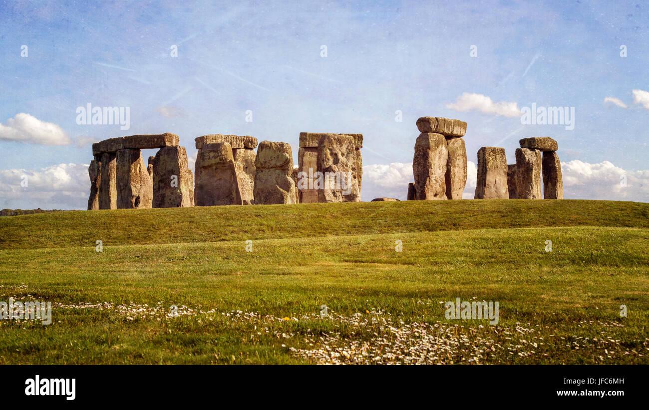Stonehenge - Standing Stones Stockbild