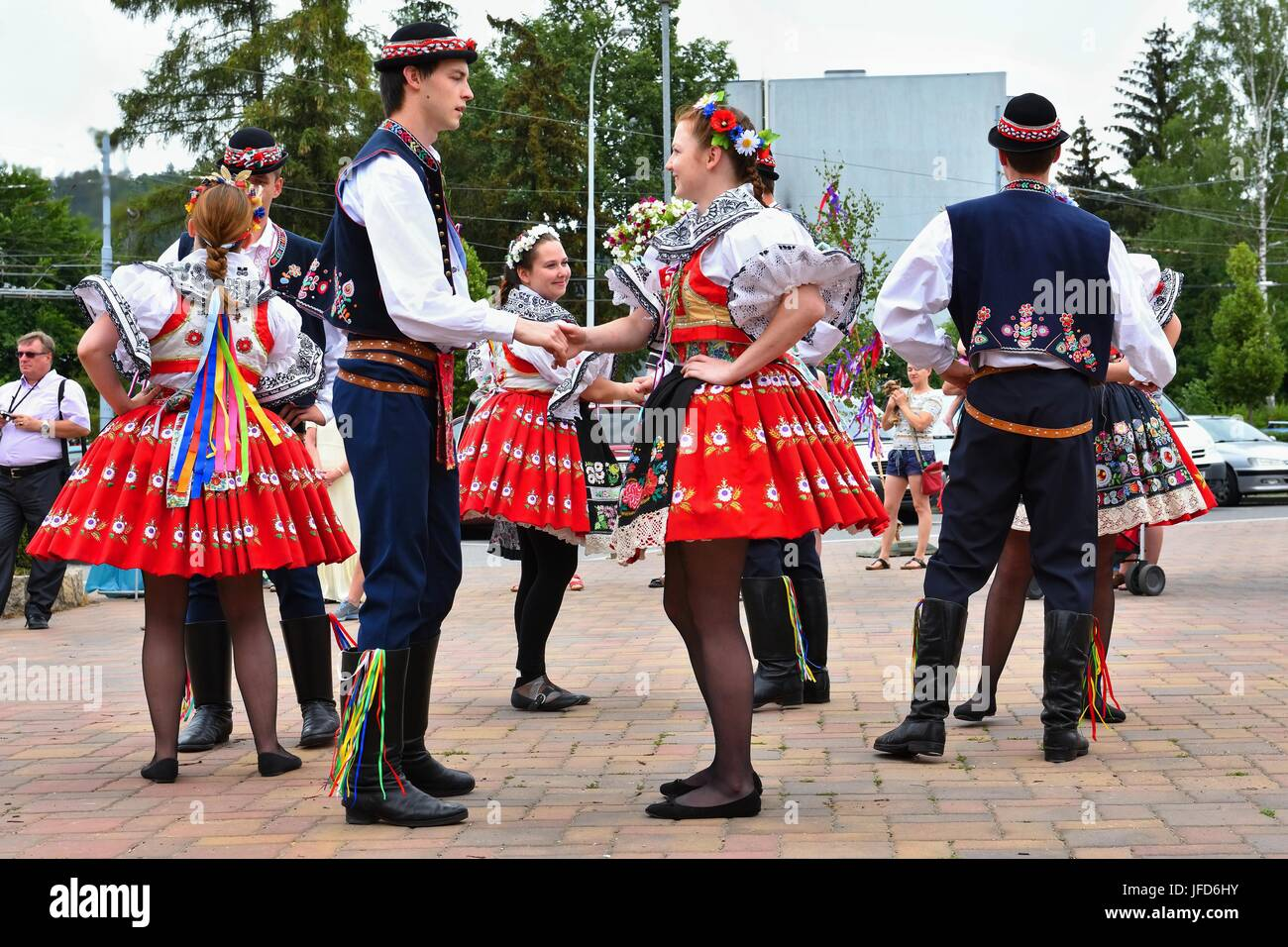 Mädchen aus der tschechischen republik