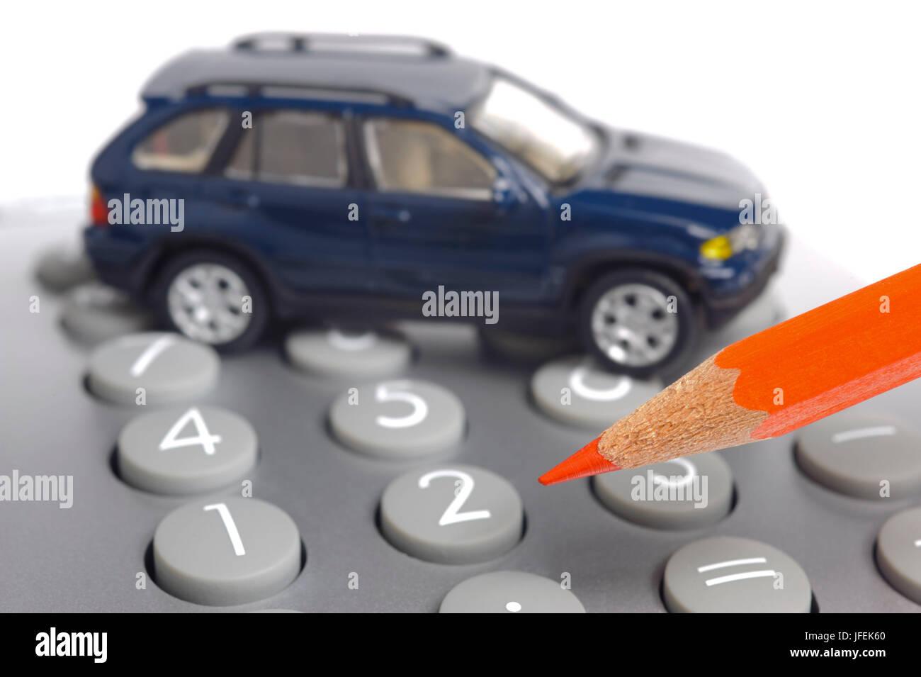Autofinanzierung Stockbild