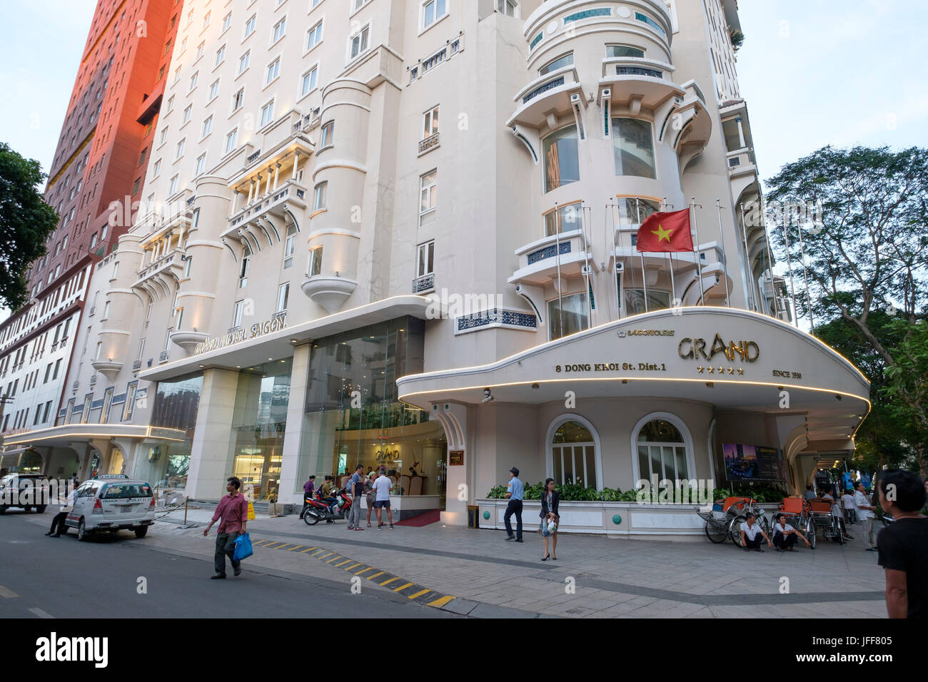 Grand Hotel Saigon In Ho Chi Minh City Vietnam Asien Stockfoto