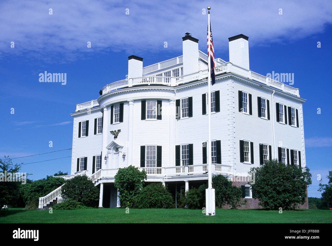 View picture of general henry knox museum montpelier thomaston - Montpelier General Henry Knox Museum Thomaston Maine Stockbild