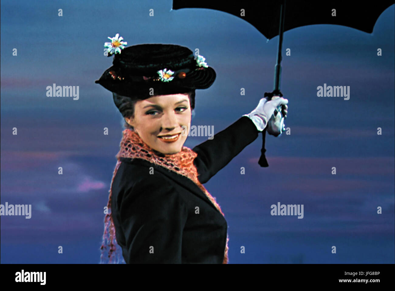 Julie Andrews Mary Poppins 1964 Stockfoto Bild 147260618 Alamy