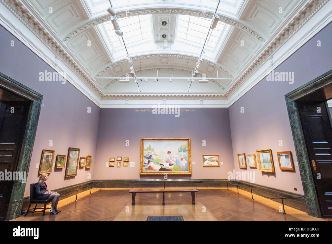 National Gallery London Room Stockfotos & National Gallery London ...