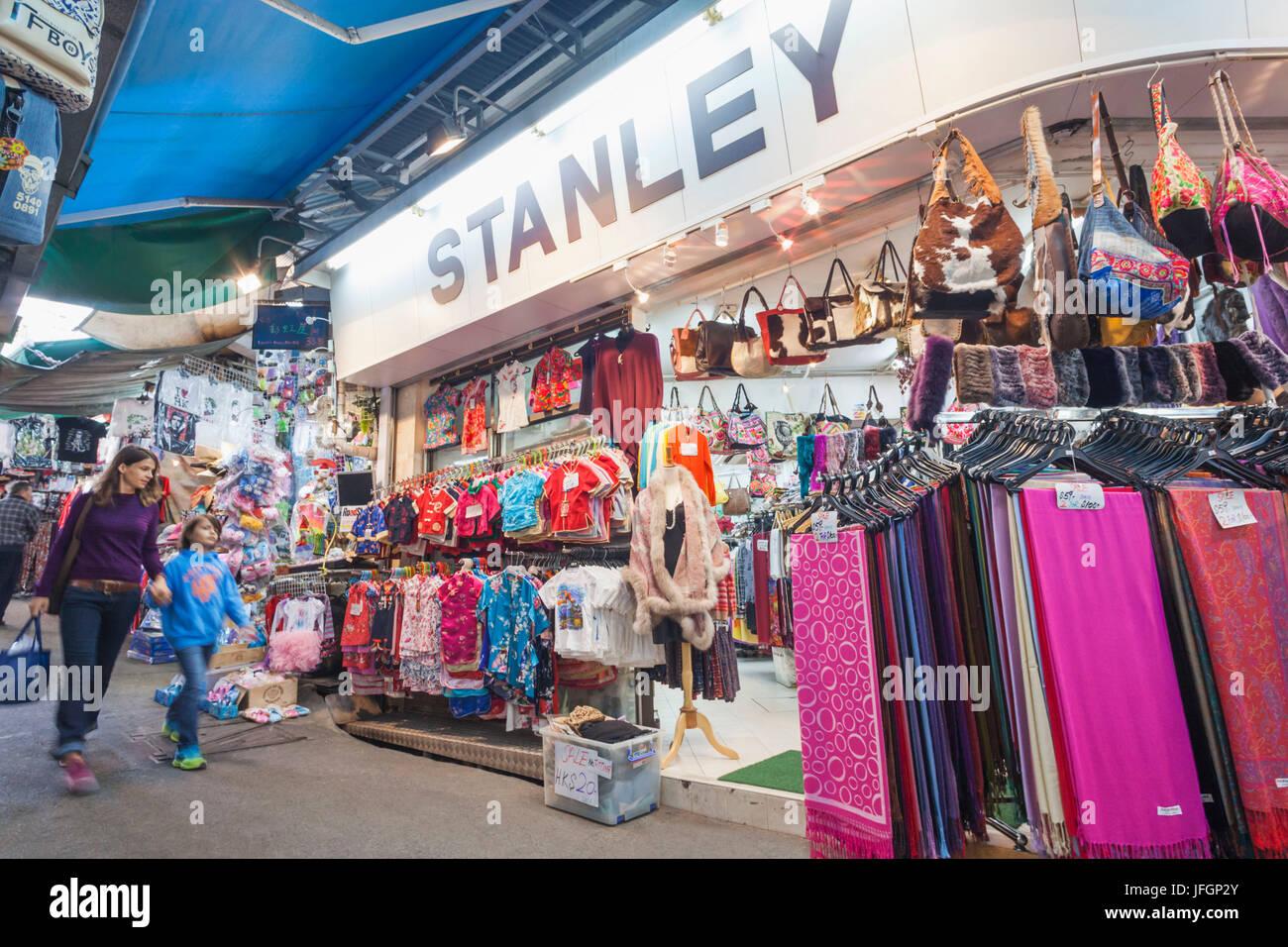 China, Hong Kong, Stanley Market Stockfoto