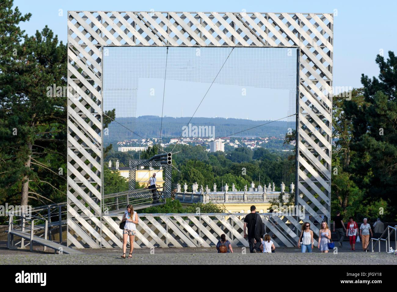 Wasserkaskaden Kassel kassel documenta city stockfotos kassel documenta city bilder alamy
