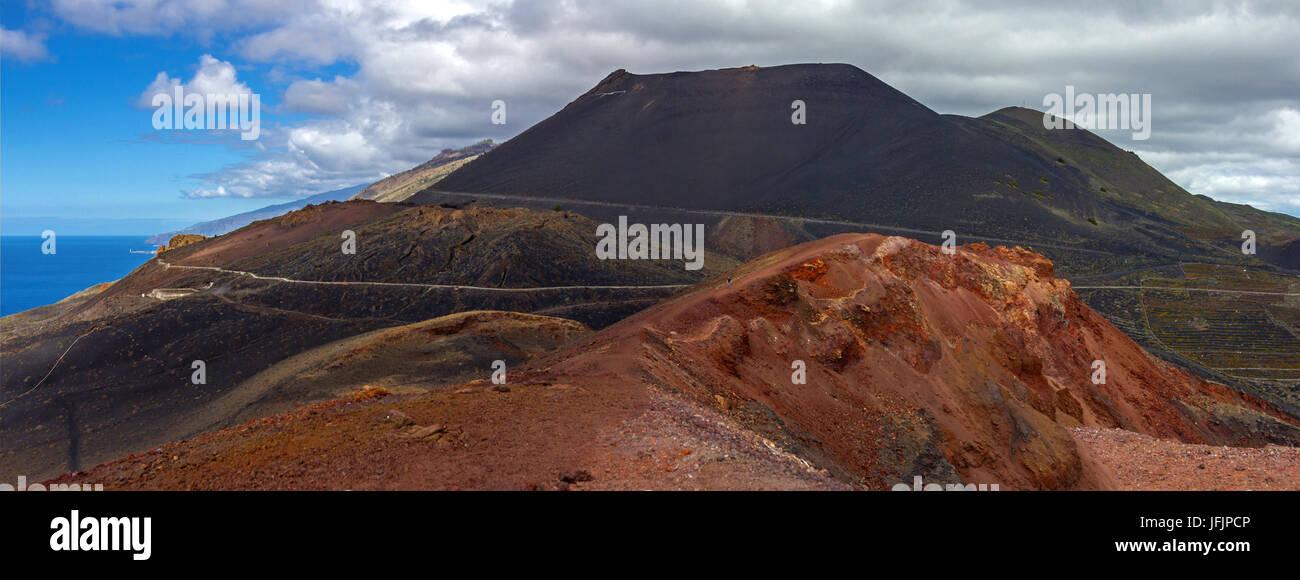 Vulkan Stockbild
