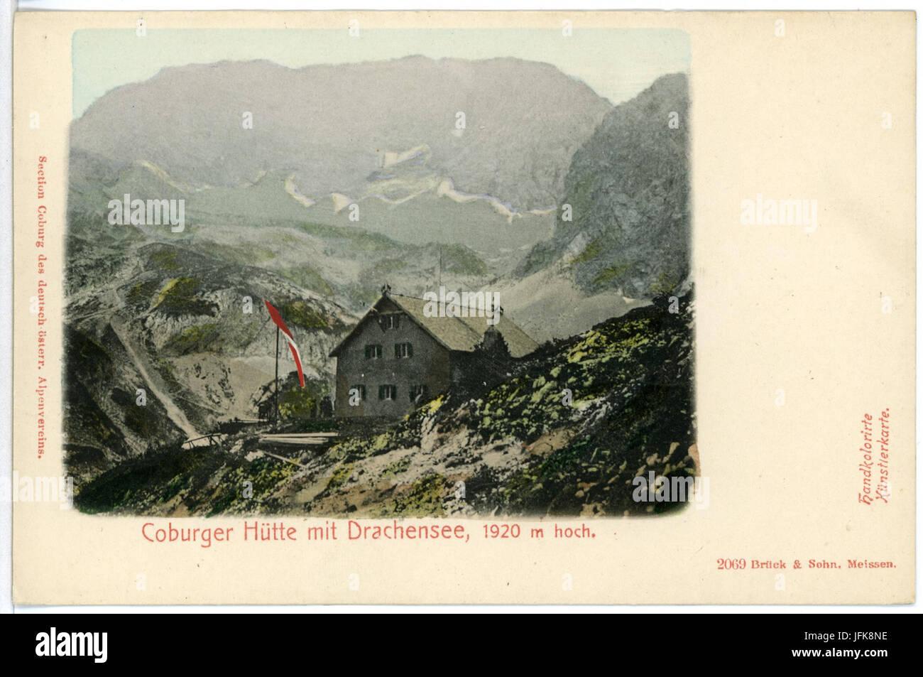 Klettersteig Coburger Hütte : Coburger hütte stockfotos bilder alamy