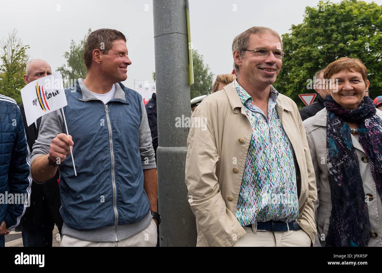 Korschenbroich Deutschland 2 Juli 2017 Ehemaliger Radprofi Jan